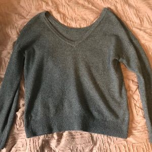 Garage M gray sweater